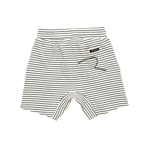 Rock Your Baby - Cream/Black Stripe Shorts