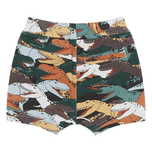 Rock Your Baby - Dino Stampede Shorts