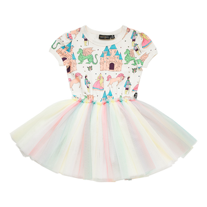 Rock Your Baby - Once Upon A Time Short Sleeve Circus Dress