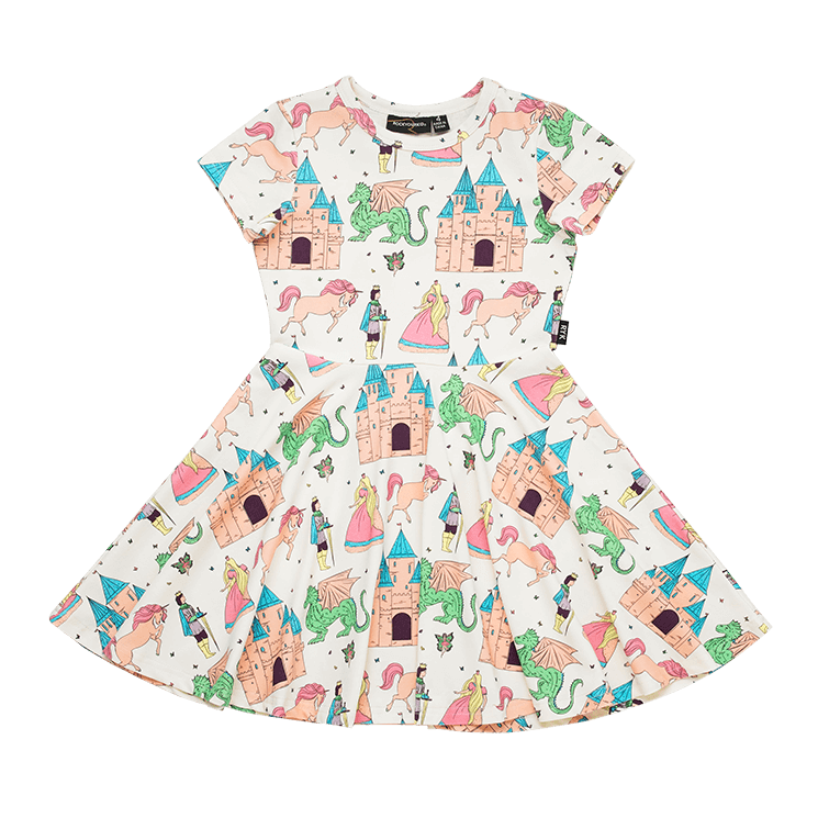 Rock Your Baby - Once Upon A Time Short Sleeve Waisted Dress