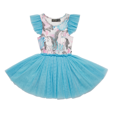 Rock Your Baby - Magic Unicorns Singlet Circus Dress