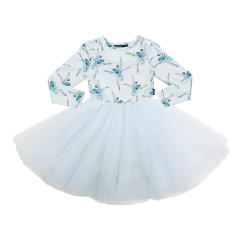 Rock Your Baby - Let's Dance LS Girls Flounce Dress