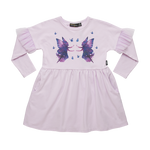 Load image into Gallery viewer, Rock Your Baby - Fairy Magic LS T-Shirt Dress