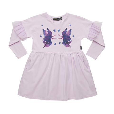 Rock Your Baby - Fairy Magic LS T-Shirt Dress