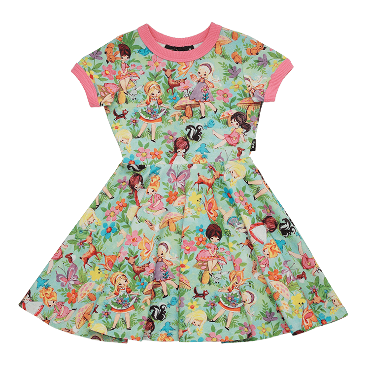 Rock Your Baby - Back To Nature Waisted Dress