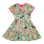 Load image into Gallery viewer, Rock Your Baby - Back To Nature Waisted Dress