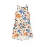 Load image into Gallery viewer, Rock Your Baby - Dino Floral Drop Waist Dress