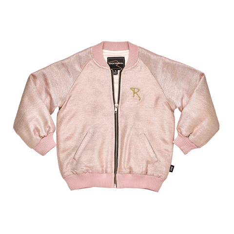 Rock Your Baby - Light Gold/Pink Shimmer Jacket