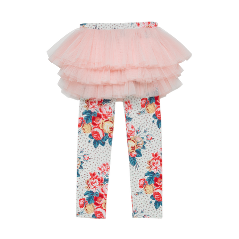 Rock Your Baby - Antique Chintz Girls Circus Tights
