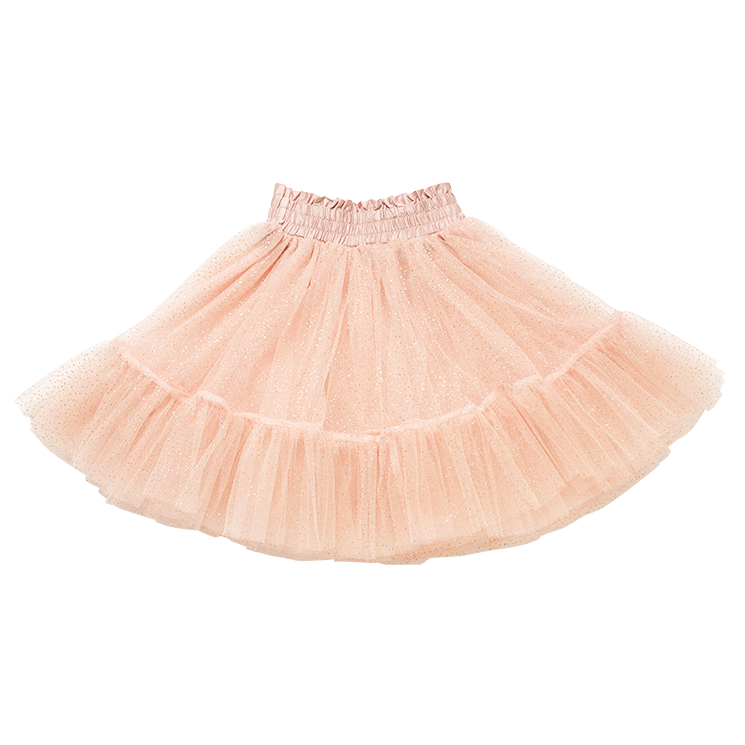 Rock Your Baby - Pink Glitter Tulle Skirt