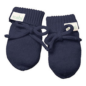 Toshi - Organic Marley Mittens (Midnight)