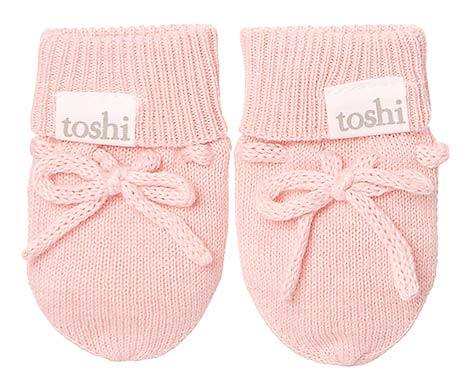 Toshi - Organic Marley Mittens (Cashmere)