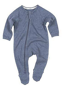 Toshi - Organic Long Sleeve Dreamtime Onesie (Moonlight)