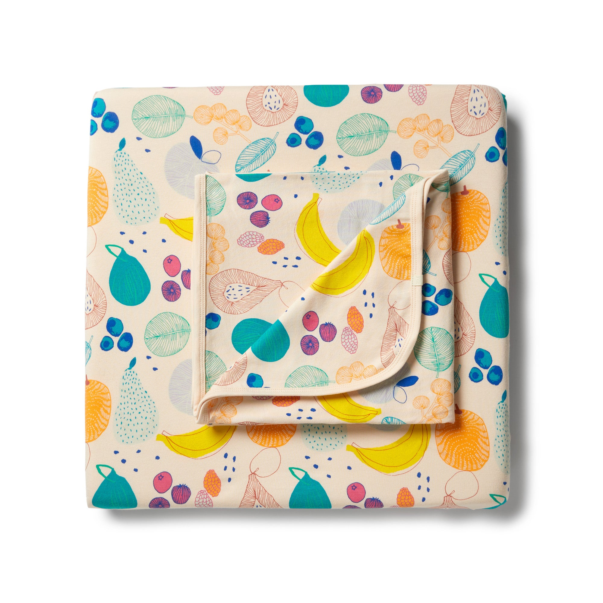 Wilson & Frenchy - Organic Cot Sheet Set - Fruit Loop