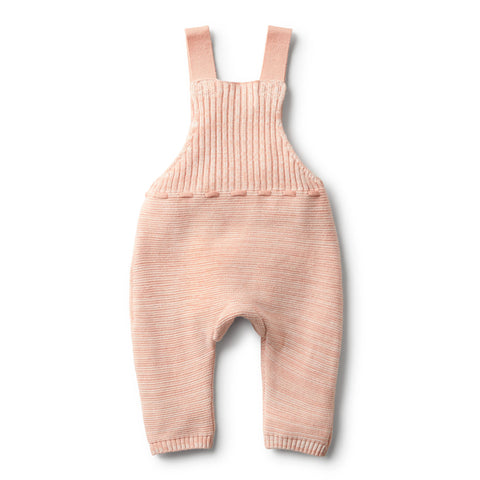 Wilson & Frenchy - Strawberry & Cream Knitted Overall