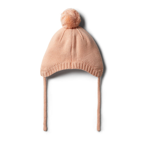 Wilson & Frenchy - Tropical Peach Knitted Bonnet