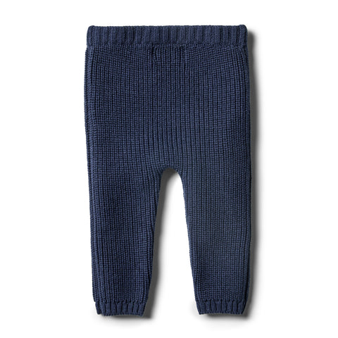Wilson & Frenchy - Twilight Blue Knitted Legging