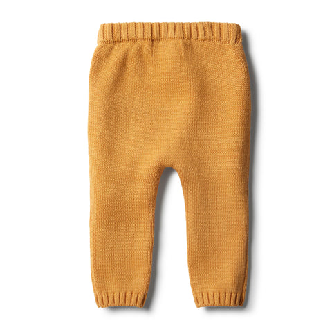Wilson & Frenchy - Golden Apricot Knitted Legging