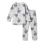Load image into Gallery viewer, Wilson & Frenchy - Organic Long Sleeve Pyjamas (Little Adventures)