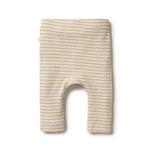 Load image into Gallery viewer, Wilson & Frenchy - Organic Stripe Rib Legging (Antelope)