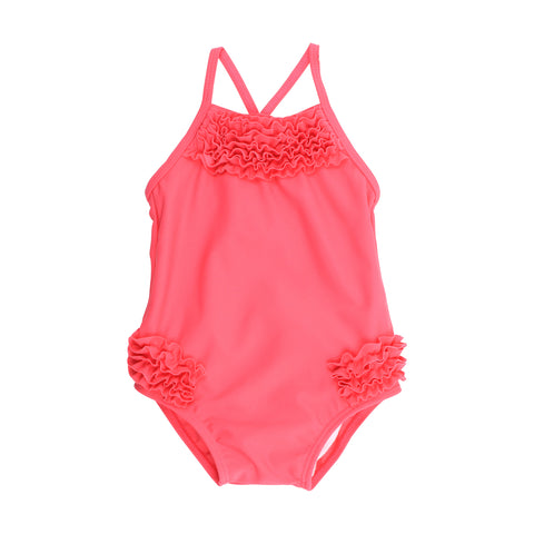 Bebe - Bella Ruffle Swimsuit