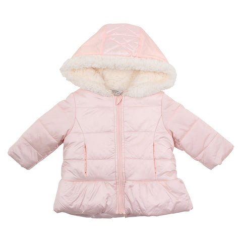 Bebe - Girls Quilted Coat With Hood