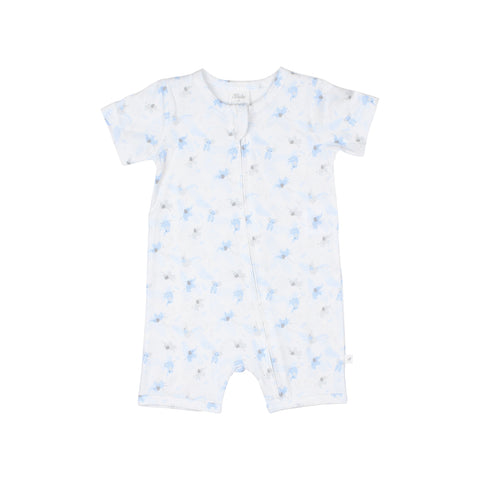 White Label by Bebe - Elephant Short Sleeve Romper