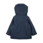Load image into Gallery viewer, Bebe - Boys Navy Lined Rain Coat