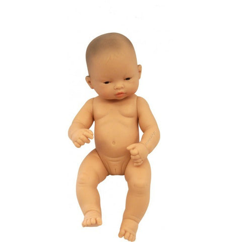 Miniland - Baby Doll Asian 32cm