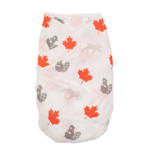 Proud Baby - Little Canuck Canada Muslin Swaddle