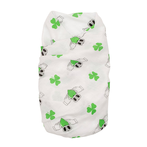 Proud Baby - The Irish Charm Ireland Muslin Swaddle