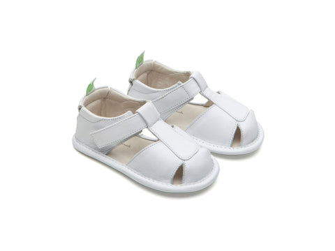 Tip Toey Joey - Parky Originals Sandals (White)