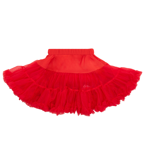 Rock Your Baby - Red Tulle Skirt (Girls)