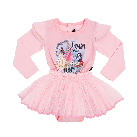 Rock Your Baby - Princesses Long Sleeve Circus Dress (Baby Girls)