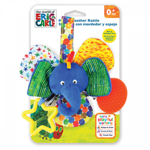 Mirrored Teether Rattle (Elephant)