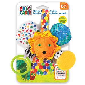 Mirrored Teether Rattle (Lion)