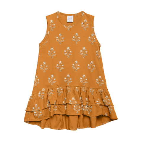 Alex & Ant - Mai Dress (Mustard Bouquet)