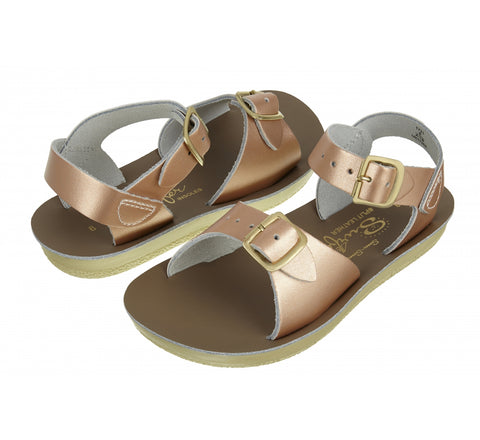 Salt Water Sandals - Surfer (Rose Gold)