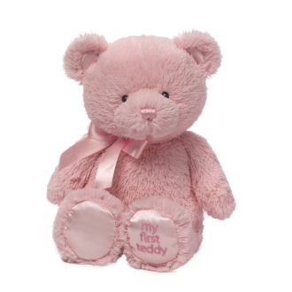 Gund - My First Teddy Pink (25cm)