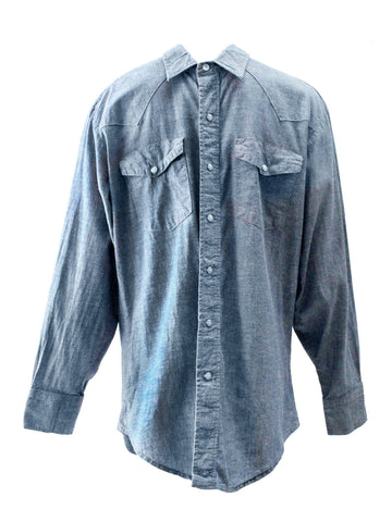 1980s Work N' Sport Denim Shirt