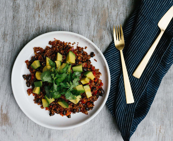 green press mexican quinoa bowl recipe