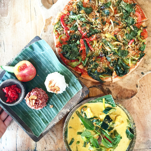 Healthy food in Ubud, Bali
