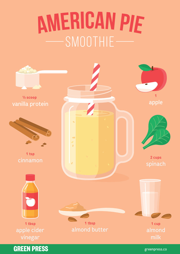 american pie the smoothie by green press