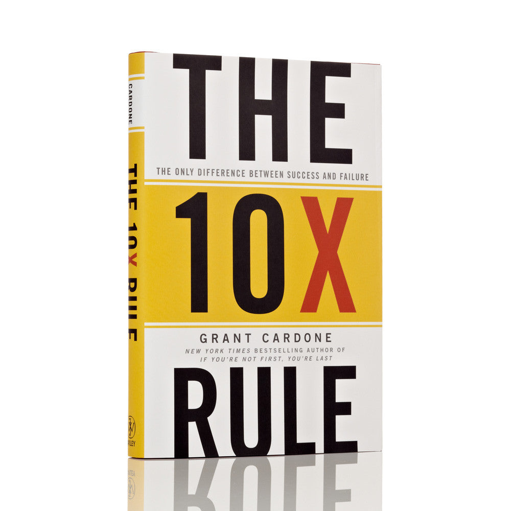 The 10X Rule - Audiobook