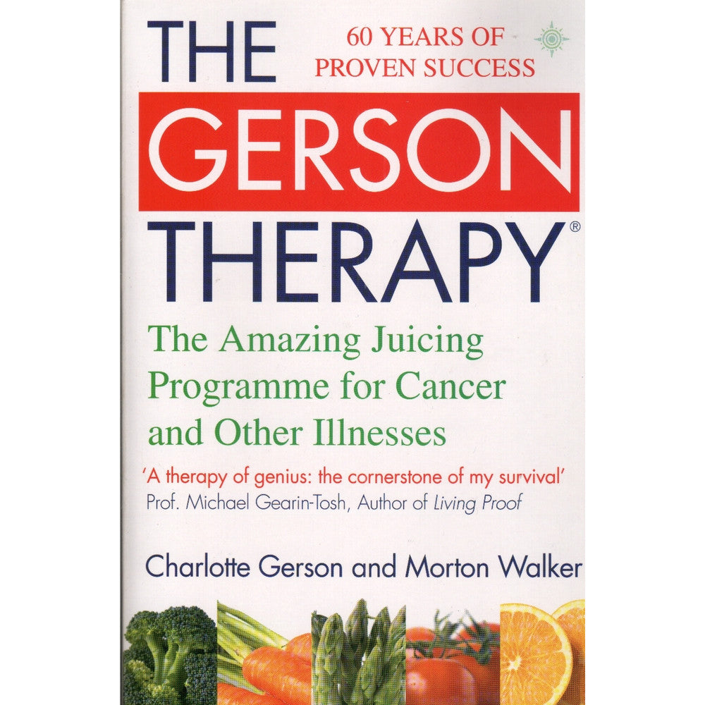 The Gerson Therapy - Book