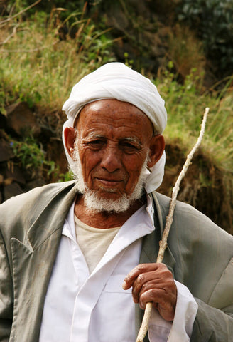 coffee farmer in Yemen