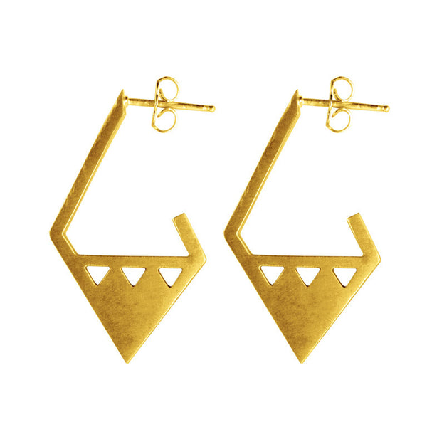 ARRIS EARRINGS GOLD