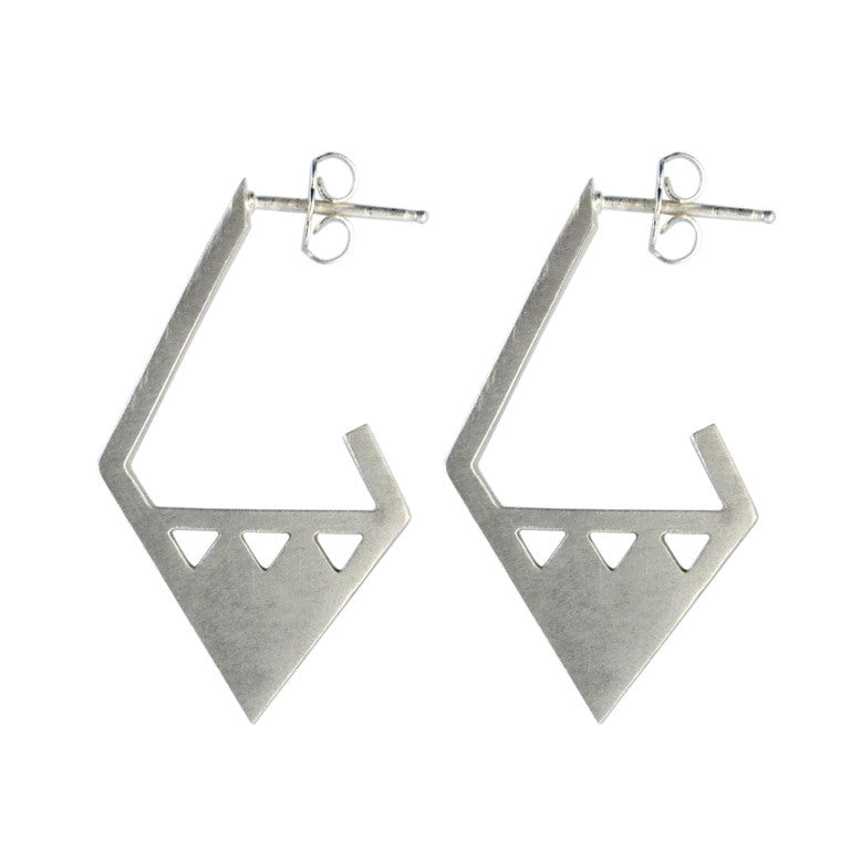 ARRIS EARRINGS SILVER