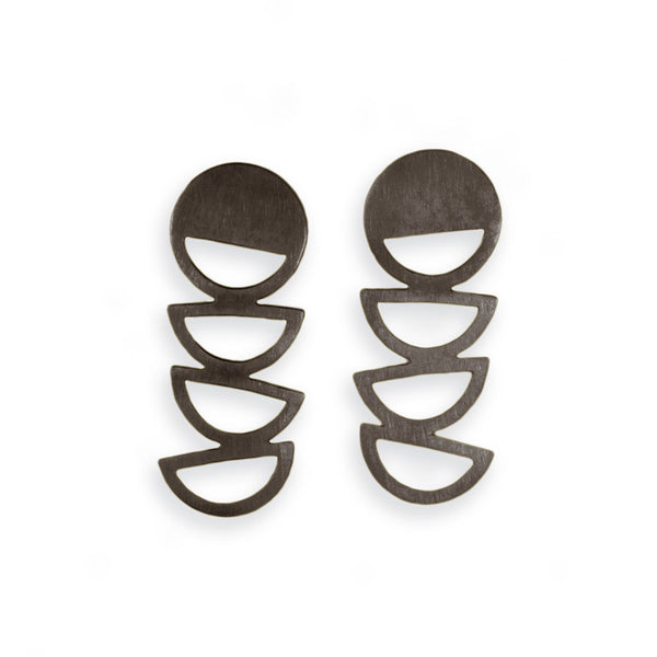 IAH EARRINGS OXIDE