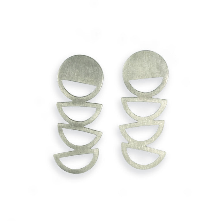 IAH EARRINGS SILVER